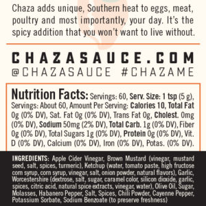 chaza-ingredients