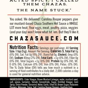 Chaza Reaper Sauce
