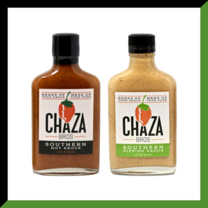 Chaza Dipping Sauce and Hot Sauce